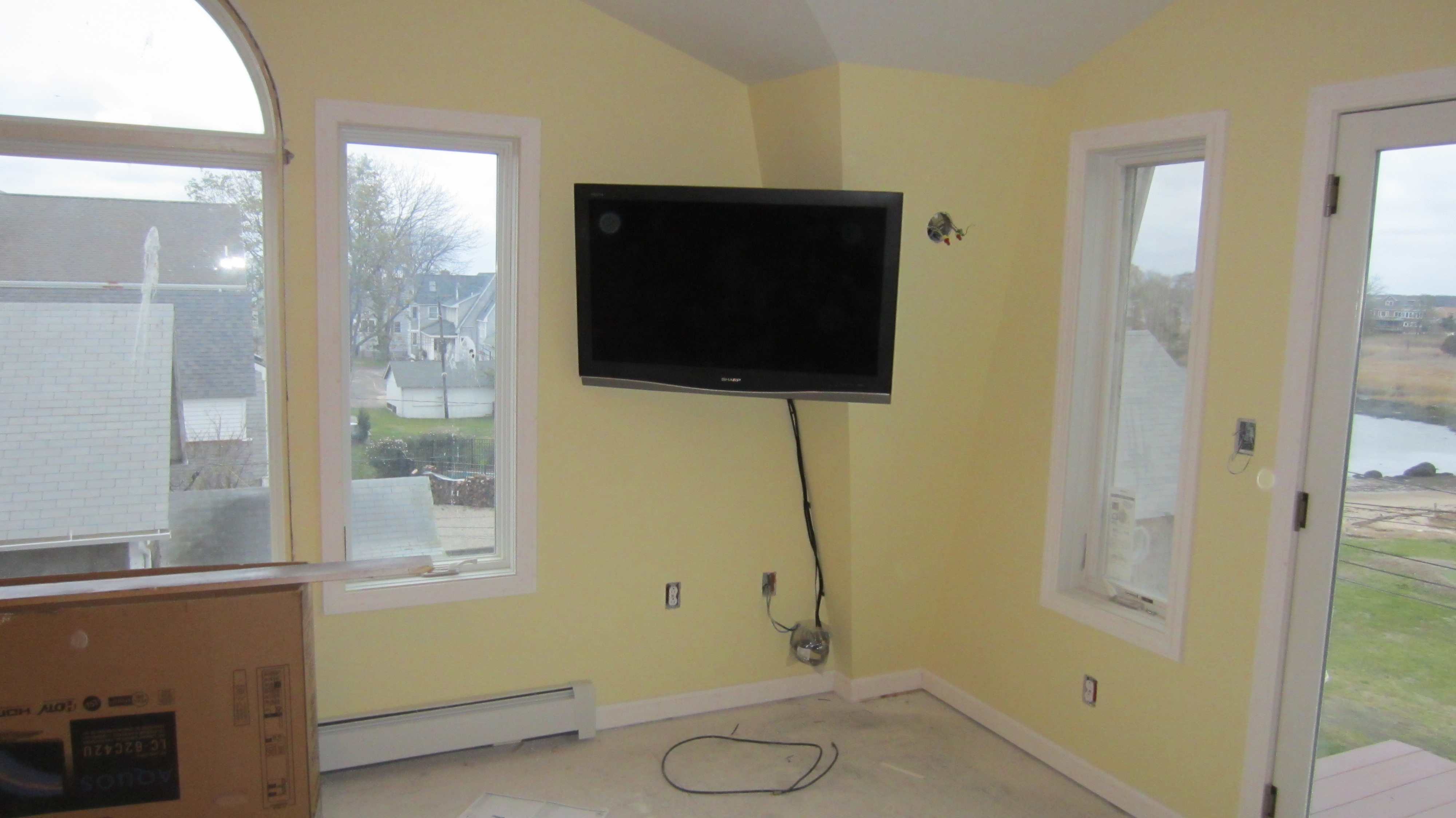 over fireplace and in corner | Richey Group, LLC – Audio/Video ...