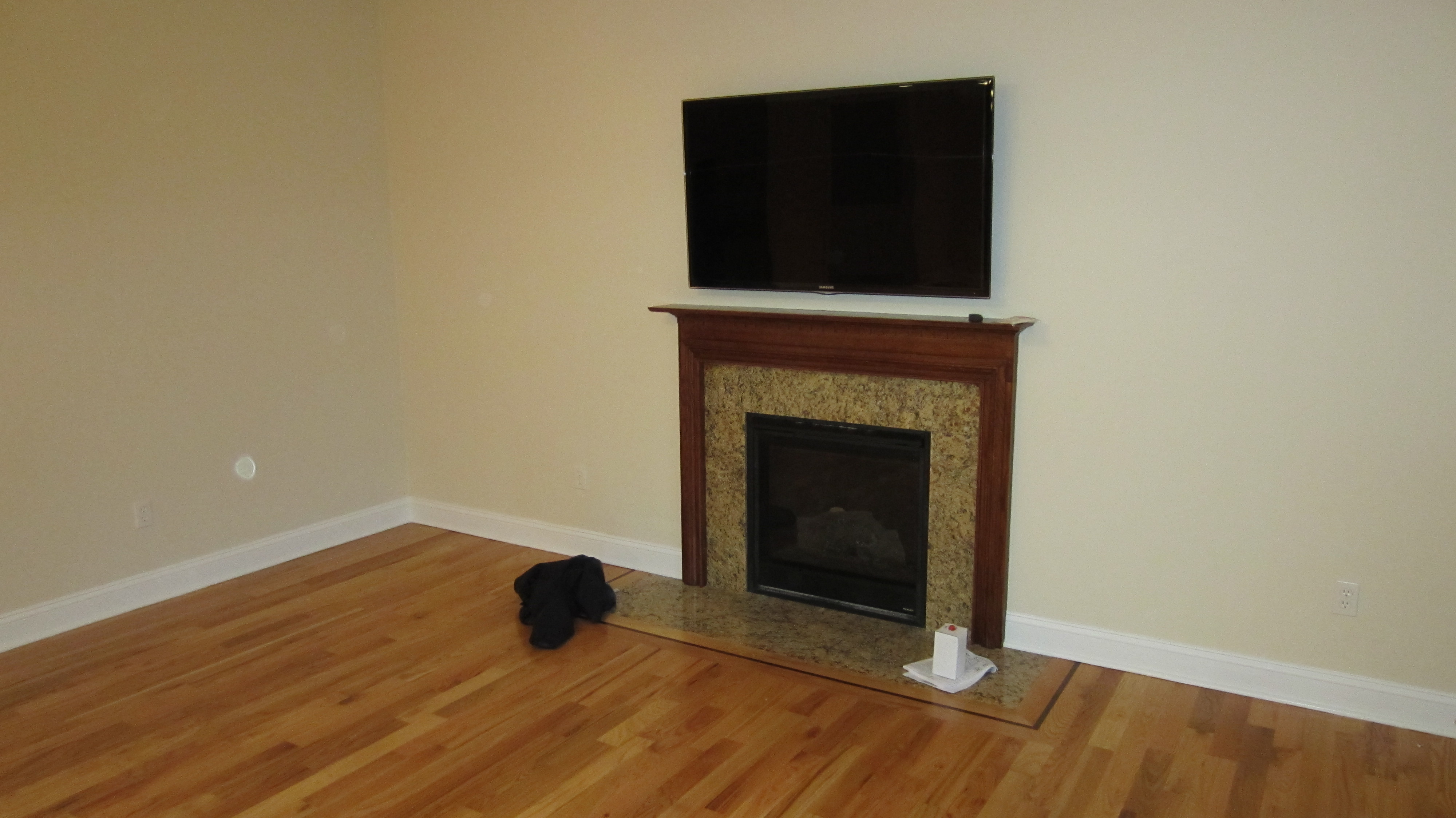 Deep River Ct Mount Tv Above Fireplace Home Theater Installation