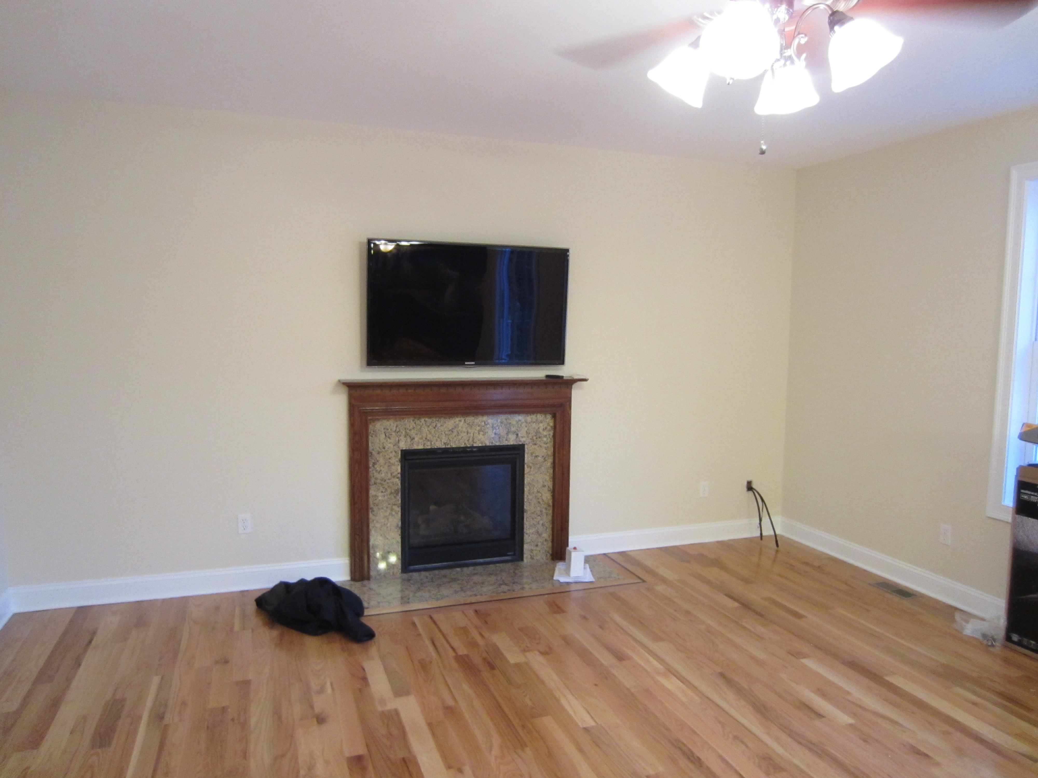 clinton ct mount tv above fireplace richey group llc audio video experts. Black Bedroom Furniture Sets. Home Design Ideas