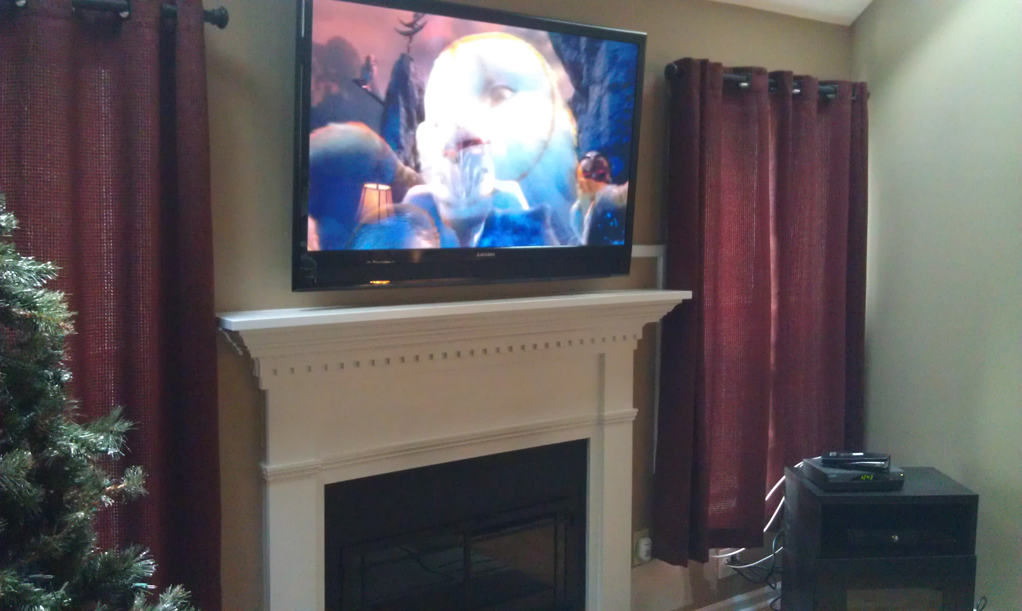 new milford ct mount tv on wall home theater installation