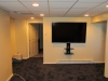 newington-ct-70-sharp-tv-installed-on-wall-with-our-black-media-shelf-and-all-wires-concealed-in-man-cave-4
