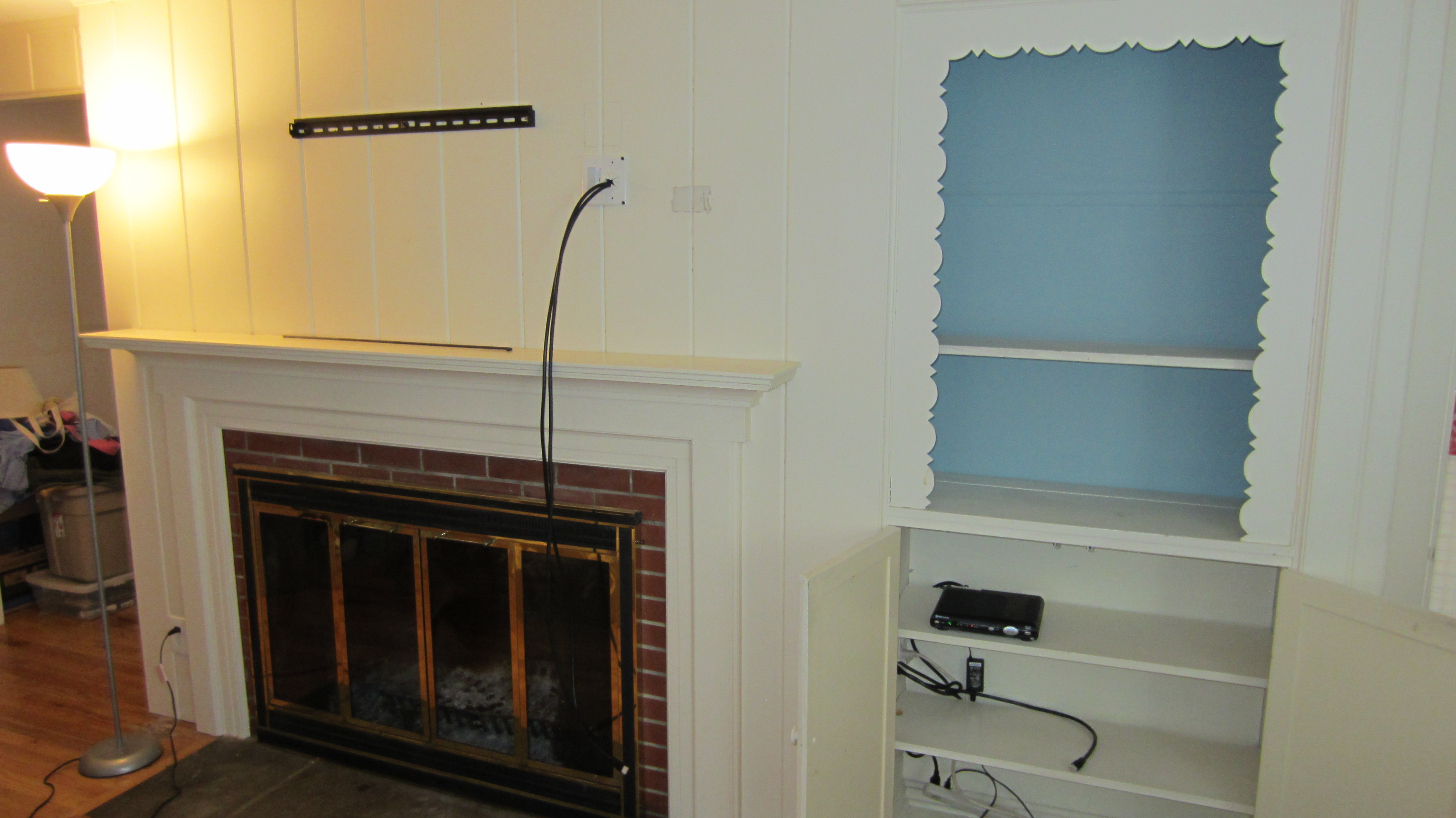 Hang Tv On Wall. Tv Wall Mount Ideas For Living Room. How To Build ...