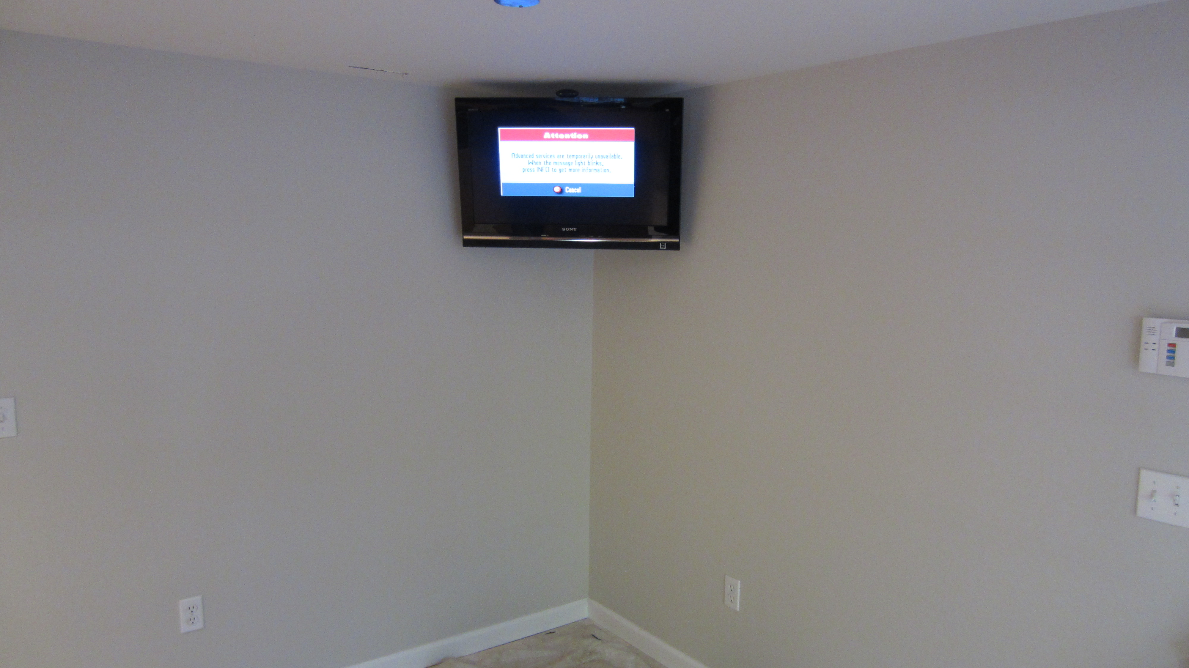 Tv On The Wall Over Fireplace Placing An Lcd Tv Above A Watch Hide Tv  #CC0040