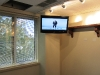 Commercial TV Mounting at Wells Fargo Westport, CT