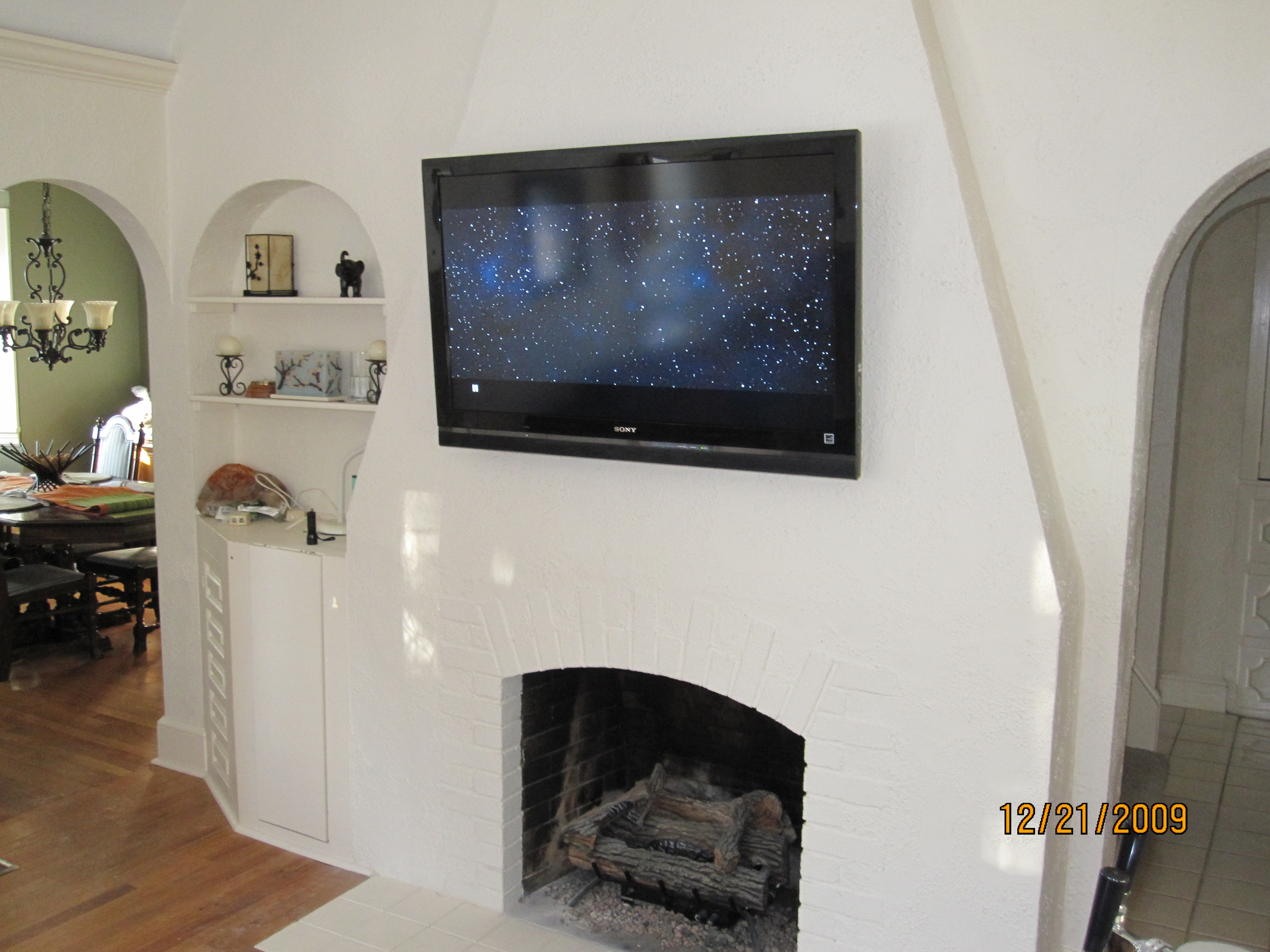 Portland Ct Mount Tv On Wall Home Theater Installation