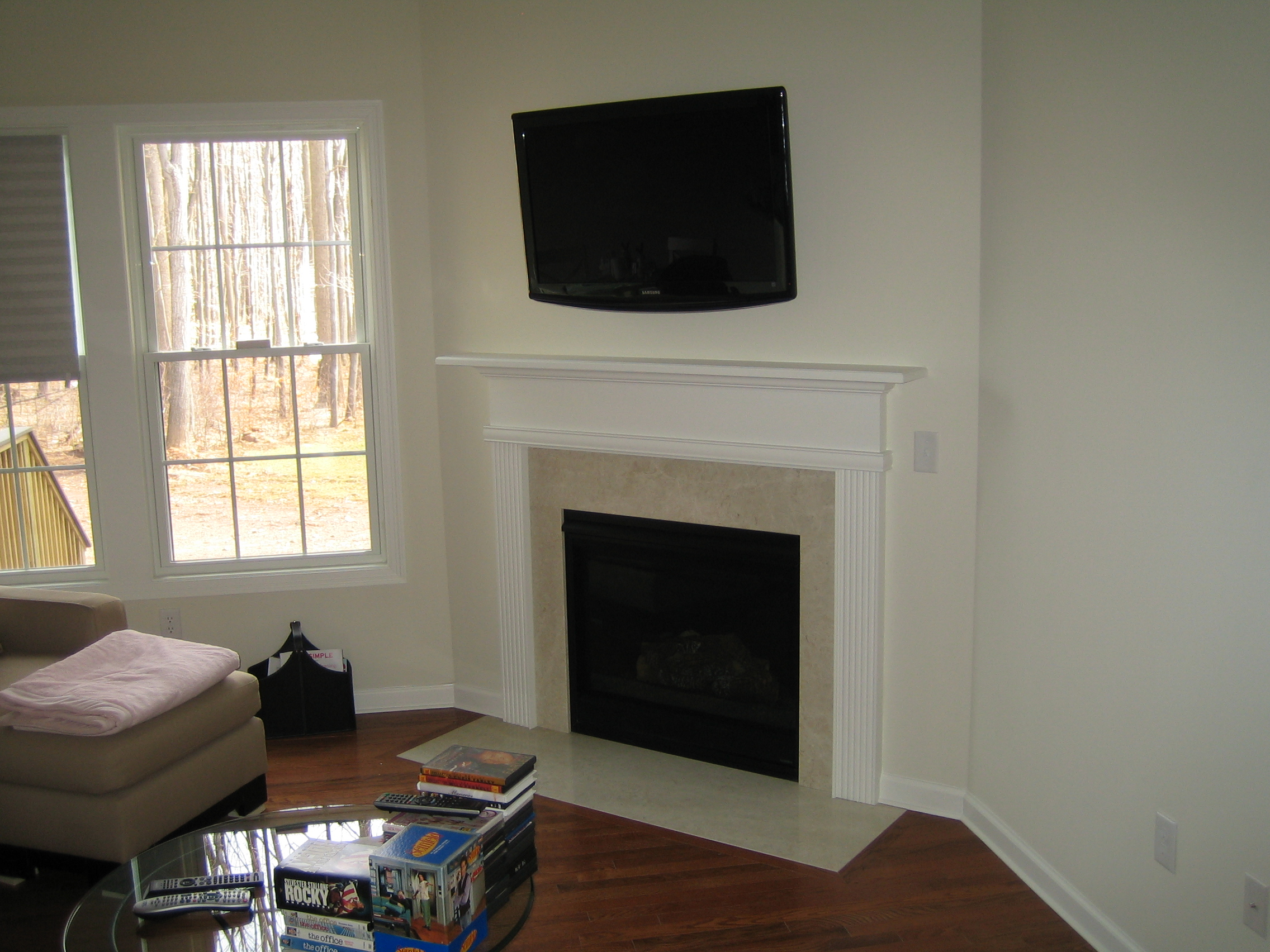 Bristol Ct Mount Tv Above Fireplace Home Theater Installation