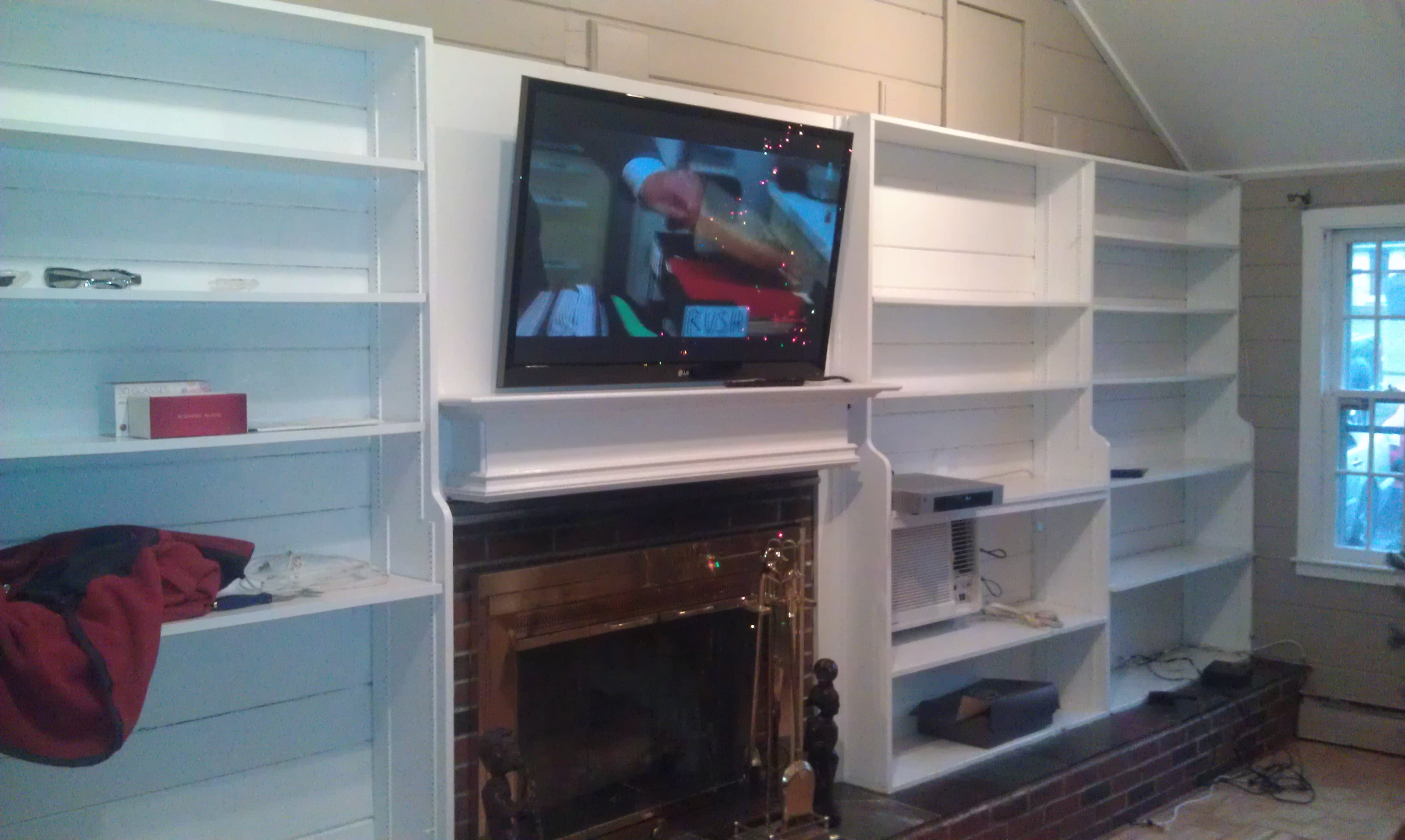 Bloomfield Ct Mount Tv Above Fireplace Home Theater