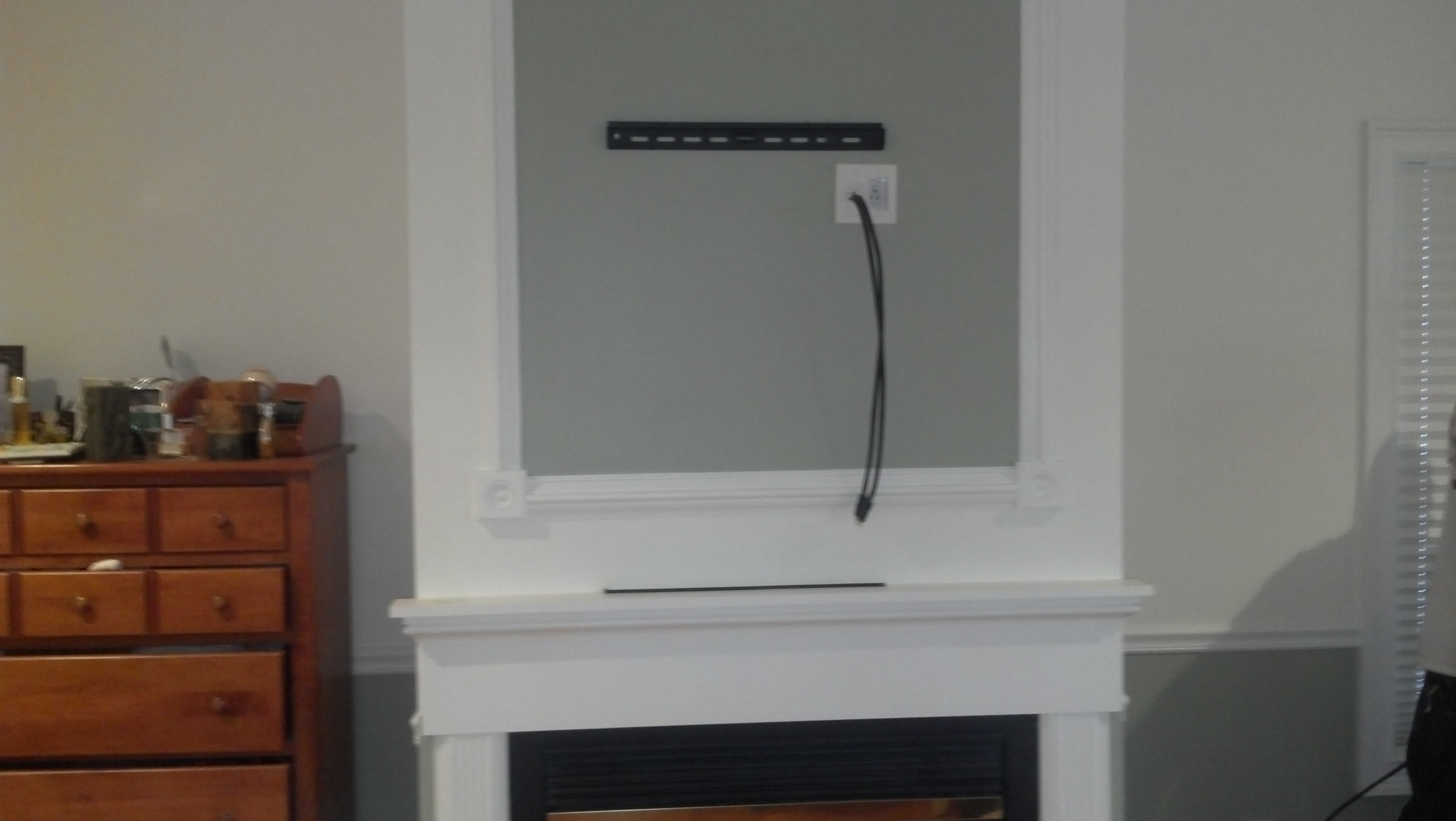 Madison Ct Tv Over Fireplace Installation 2