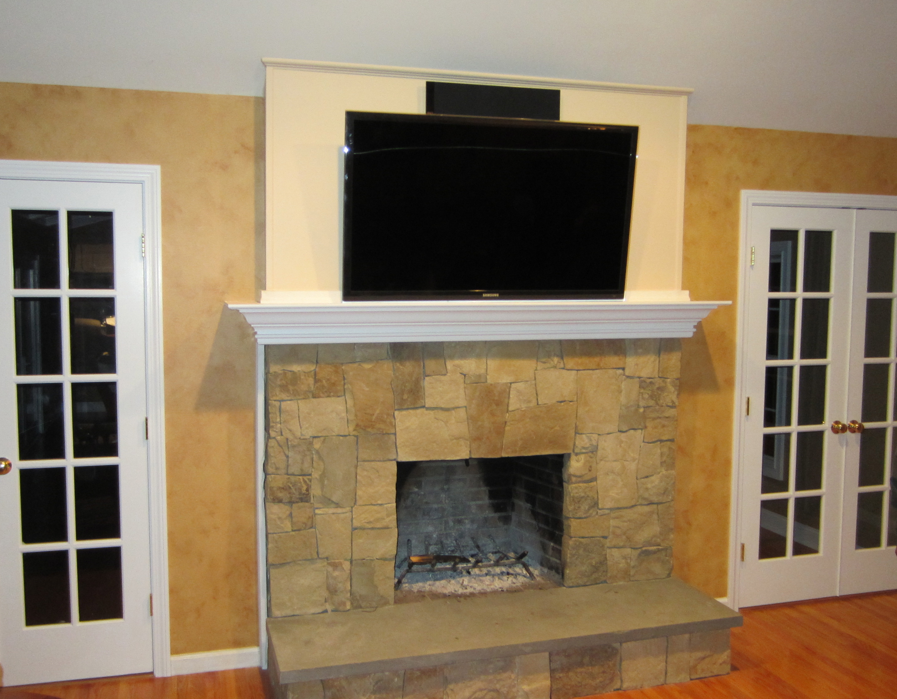 Blog Home Theater Installation Connecticuts Finest Wiring With Cable Box Newtown Ct Tv Over Fireplace