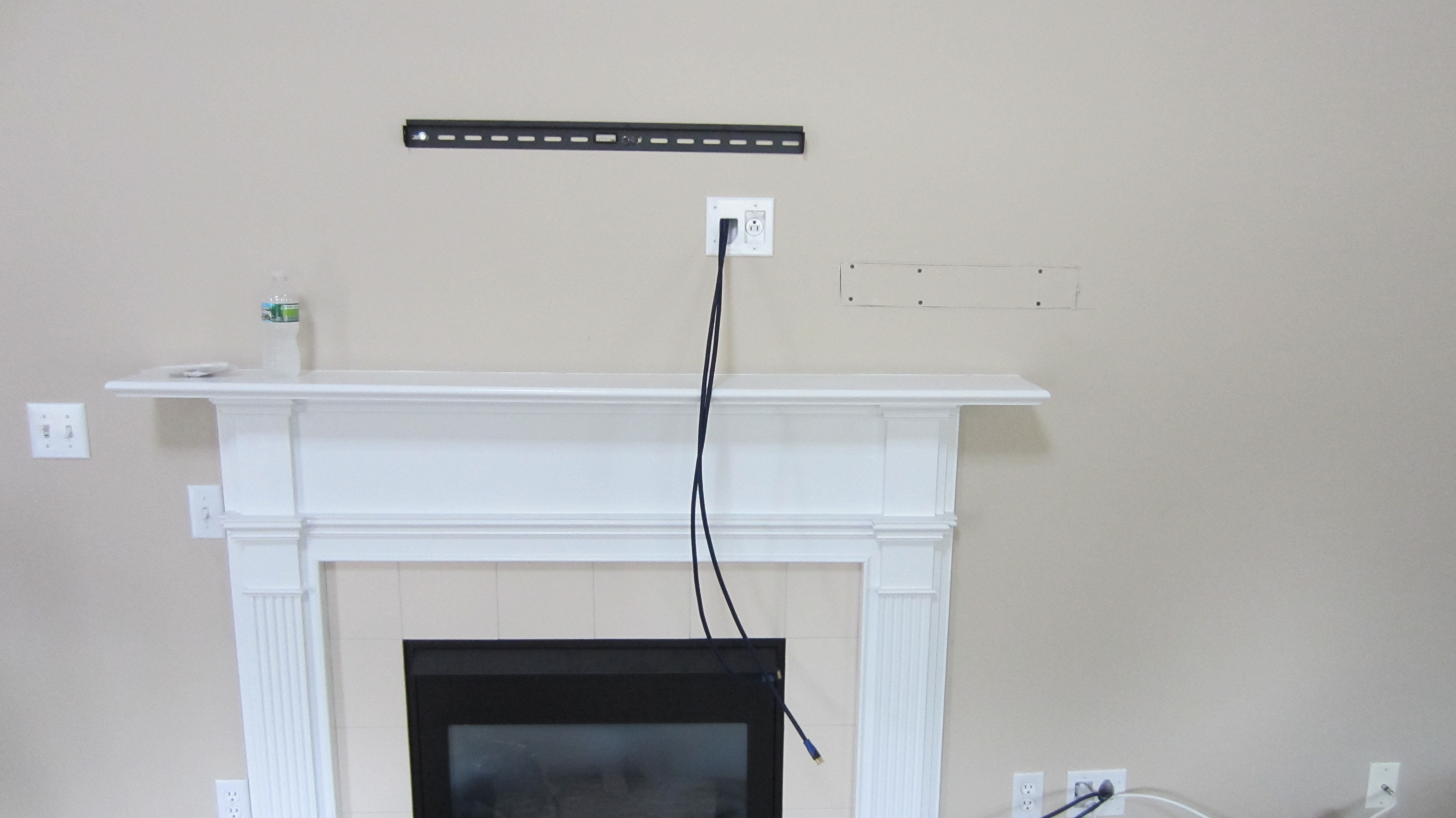 Milford Ct Mount Tv Above Fireplace Home Theater Installation