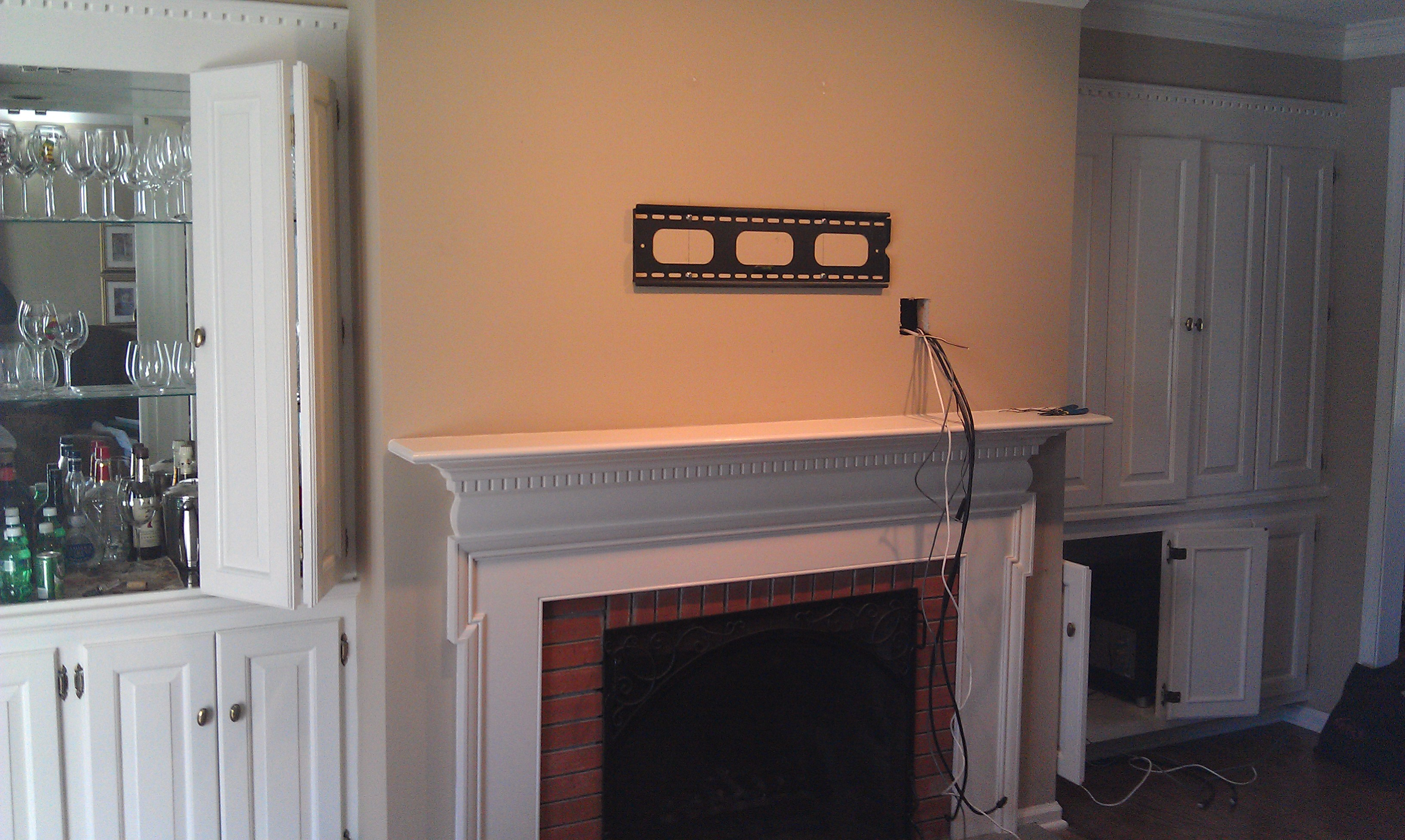 Newington Ct Surround Sound Home Theater Installation